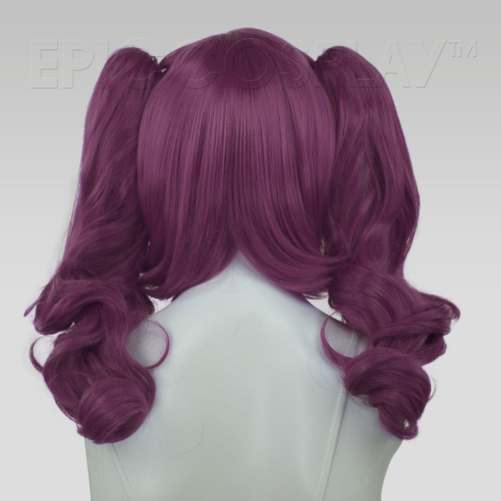 23/'/' Curly Pig Tails Base Midnight Blue Cosplay Wig NEW