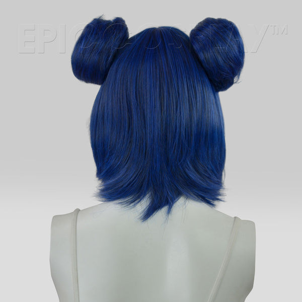Bun Set - Blue Black Fusion