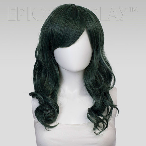Hestia - Forest Green Mix Wig