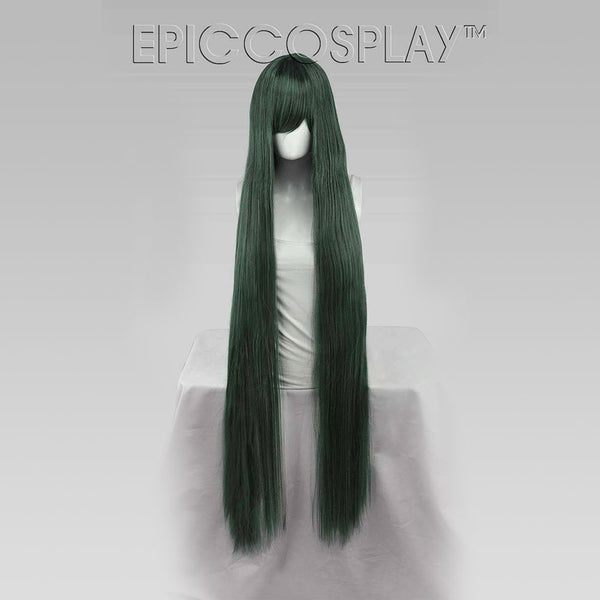 Asteria - Forest Green Mix Wig