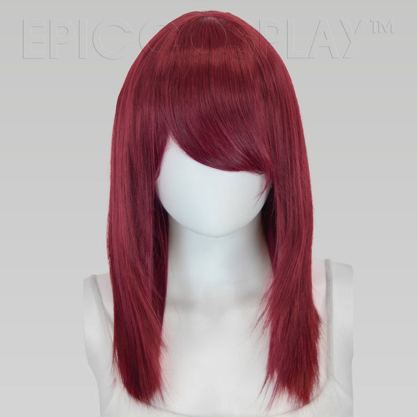 THEIA - Burgundy Red Mix Wig