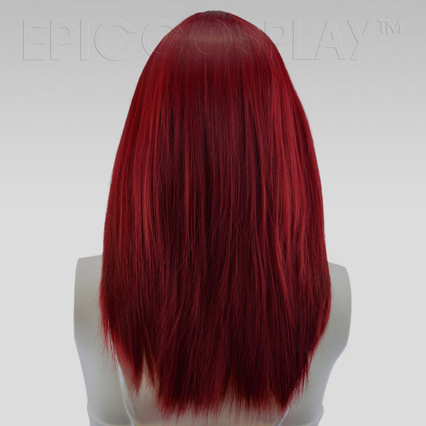 Theia - Burgundy Red Wig