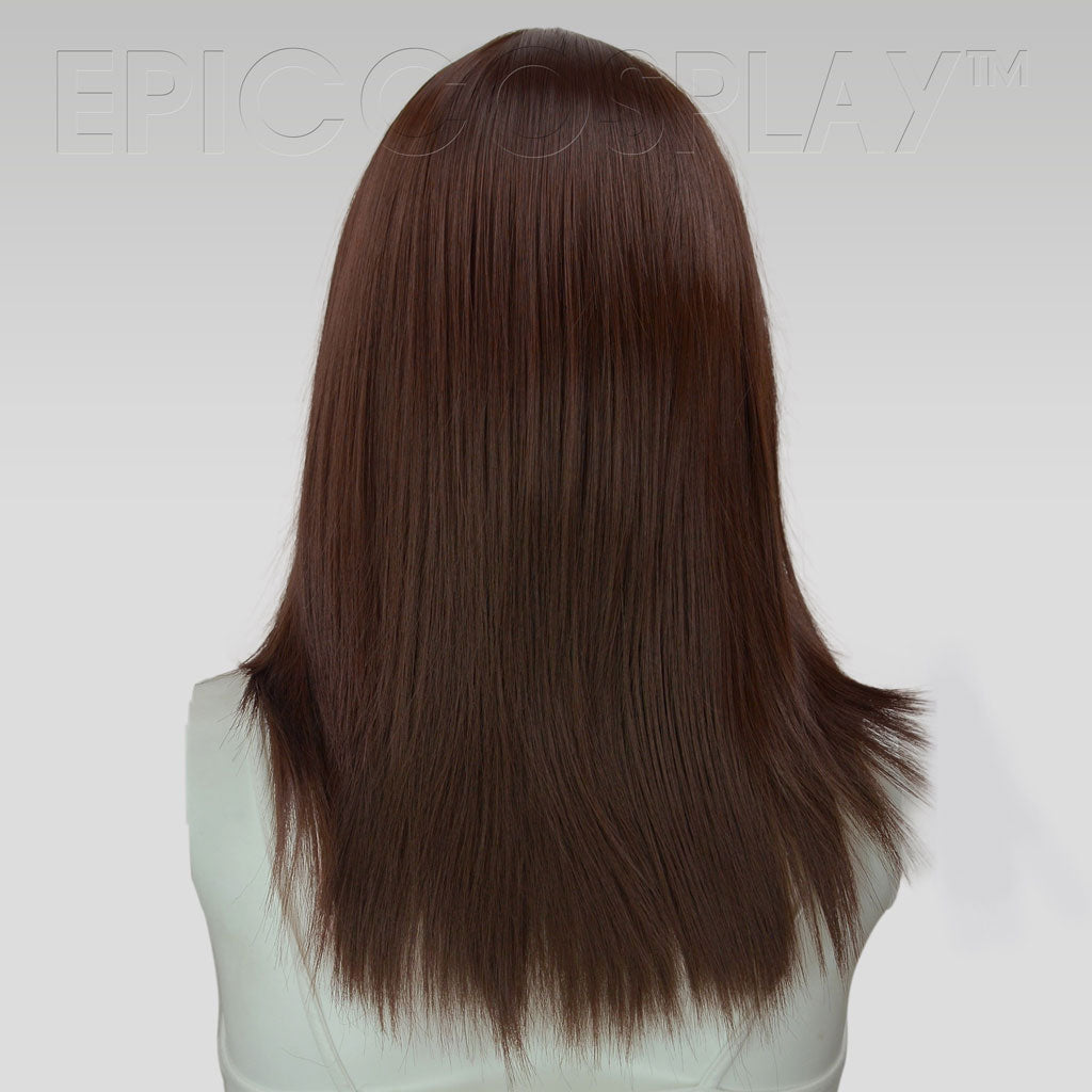 Theia 20 Inch Dark Brown Medium Cosplay Wig