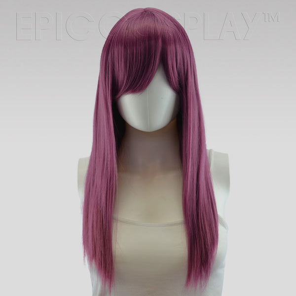 Theia - Dark Plum Purple Wig