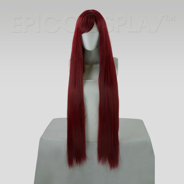 Persephone - Burgundy Red Wig
