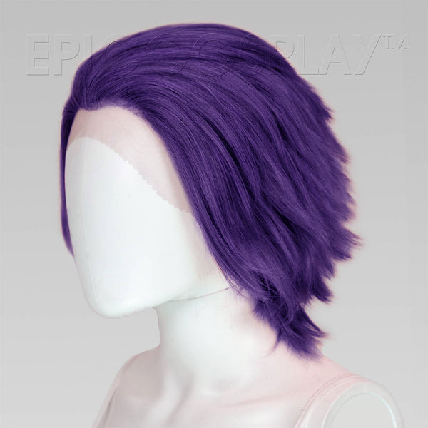 Keto (Layered) - Royal Purple Wig