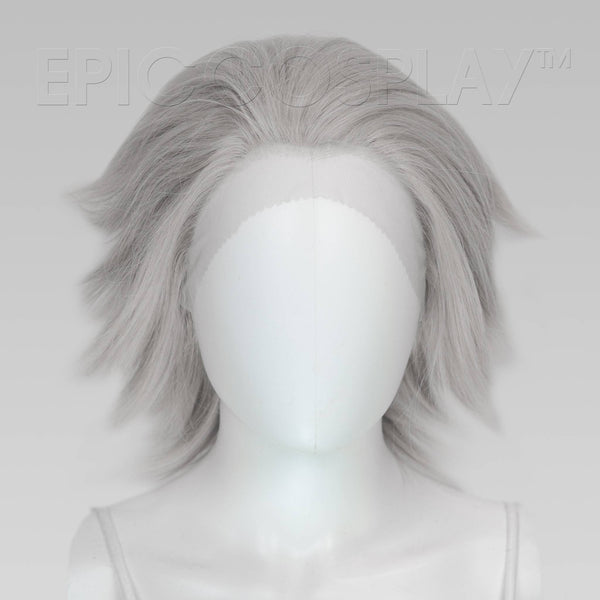 Keto (Layered) - Silver Grey Wig