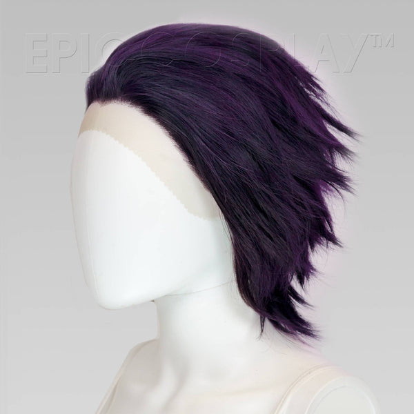 Keto (Layered) - Purple Black Fusion Wig