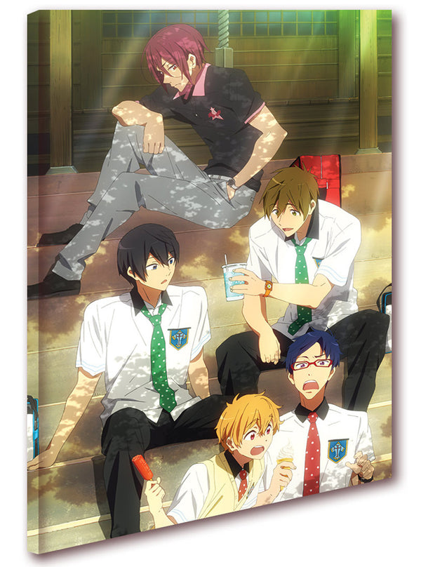 Official Free! Iwatobi Swim Club Canvas Art - Lunch Time