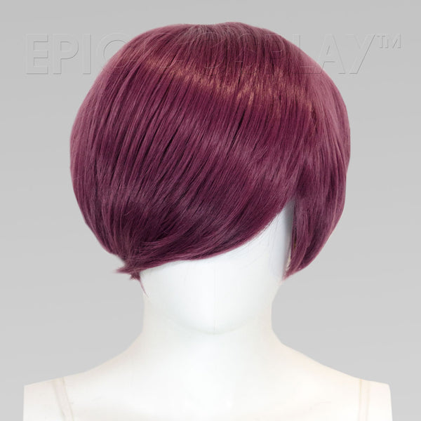 Nike - Dark Plum Purple (Light Brown Undercut) Wig