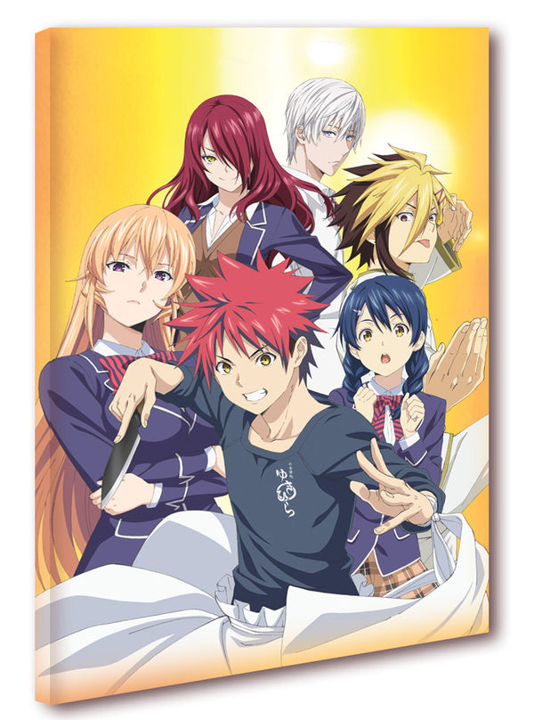 Official Food Wars S3 Canvas Art - The Group
