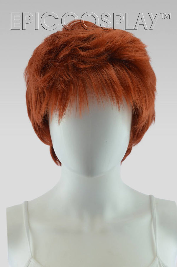 Hermes - Copper Red Mix Wig