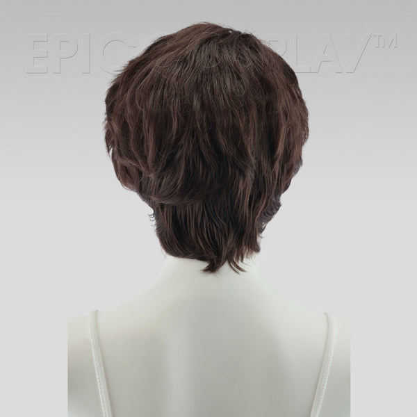 Hermes - Dark Brown Wig