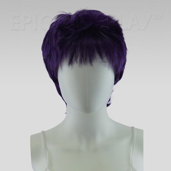 Hermes - Purple Black Fusion Wig