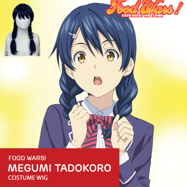 Food Wars - Megumi Tadokoro - Official Licensed Cosplay Wig