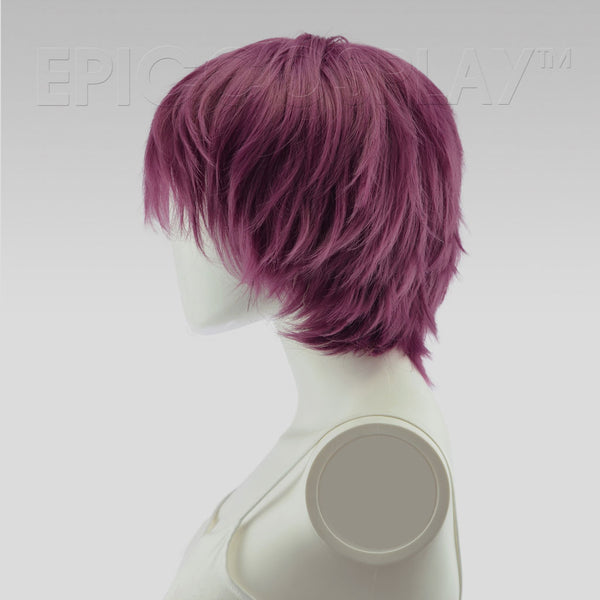 Apollo - Dark Plum Purple Wig