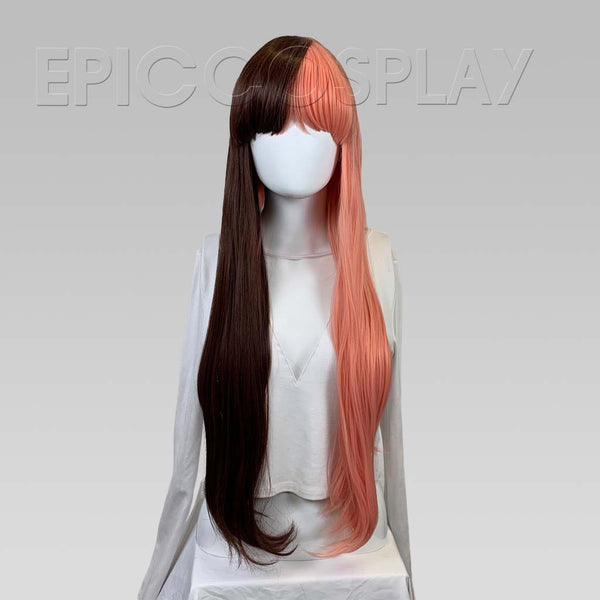 Charon - Long Straight Two Color Mix Wig