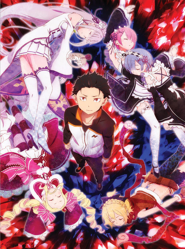 Official Re: Zero Canvas Art - Group Shot