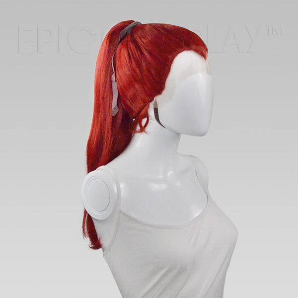 Calliope - Dark Red Ponytail Lacefront Wig