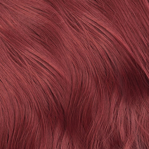 "35"" Weft Extension - Burgundy Red"