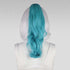 "20"" Anime Blue Mix Wavy Curly Ponytail Clipon"