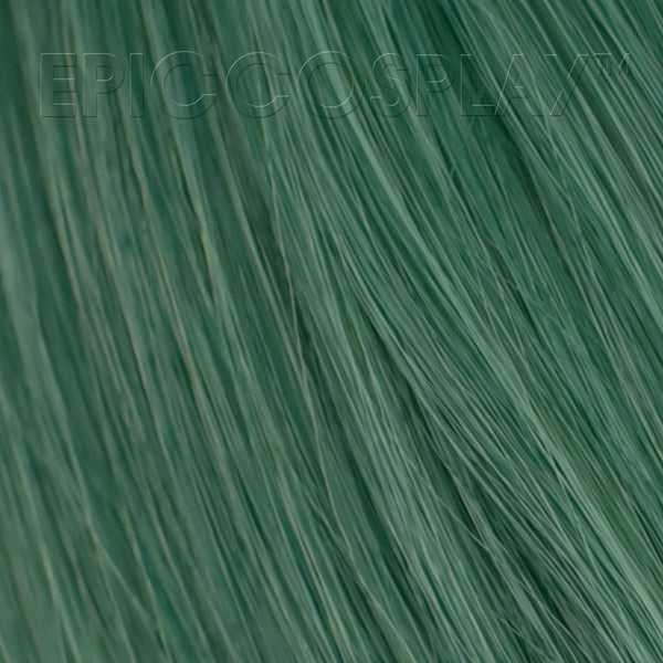 "15"" Weft Extension - Emerald Green Mix"