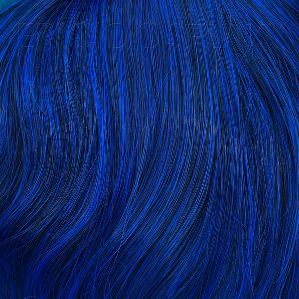 "50"" Ponytail Wrap - Blue Black Fusion"
