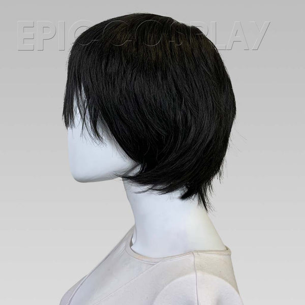 The Schemer - Black Short Wig