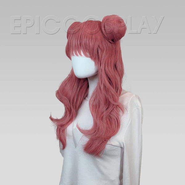 LUNA - Princess Dark Pink Mix Wig Set