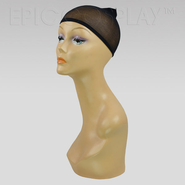 Nylon Wig Cap - Black (2 Pack)