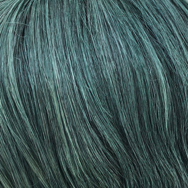 "15"" Weft Extension - Forest Green Mix"