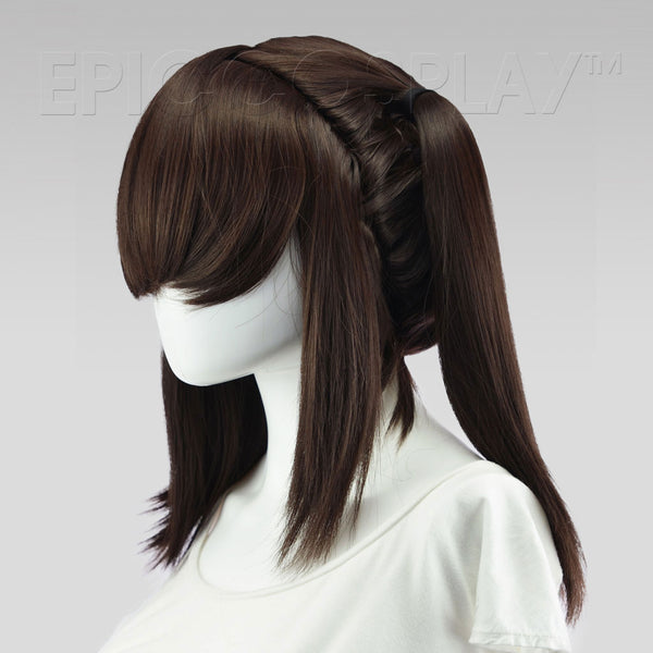 Gaia - Dark Brown Wig
