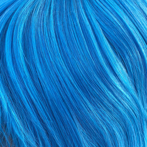 "15"" Weft Extension - Teal Blue Mix"