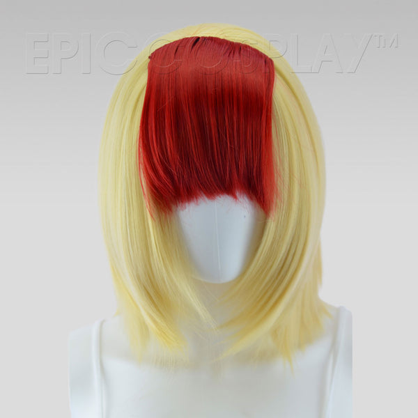 Clip In Bang Extension - Dark Red