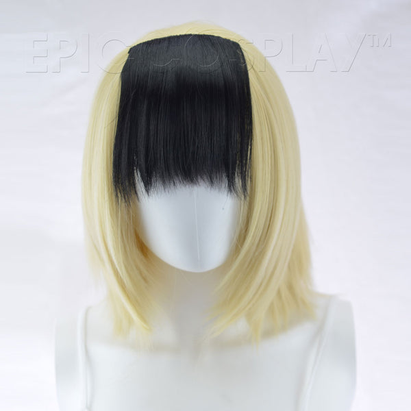 Clip In Bang Extension - Black