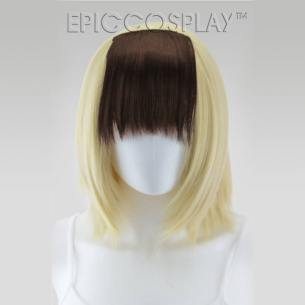 Clip In Bang Extension - Dark Brown