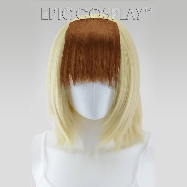 Clip In Bang Extension - Light Brown