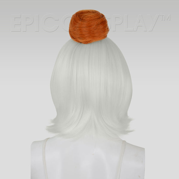 Hair Bun Extension - Autumn Orange