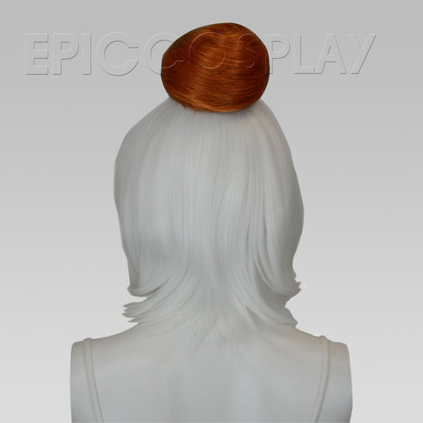 Hair Bun Extension - Copper Red