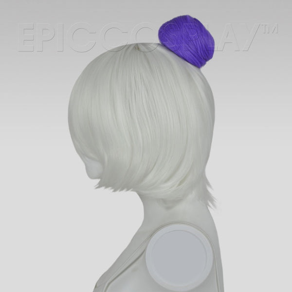 Hair Bun Extension - Classic Purple