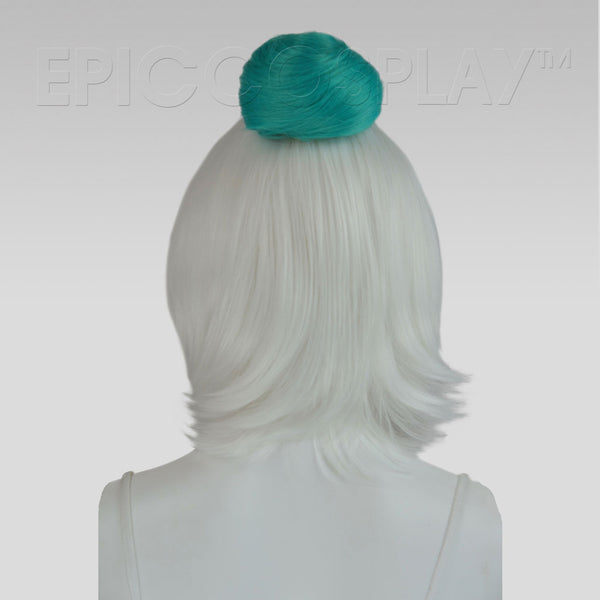 Hair Bun Extension - Vocaloid Green