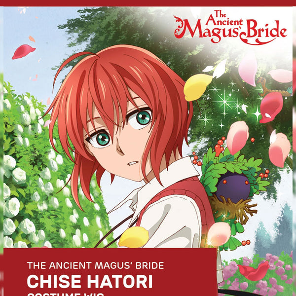 Official Licenced The Ancient Magus Bride Cosplay Wig: Chise Hatori