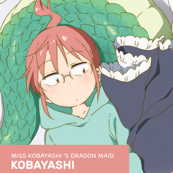 Official Licensed Miss Kobayashi's Dragon Maid Cosplay Wig: Kobayashi