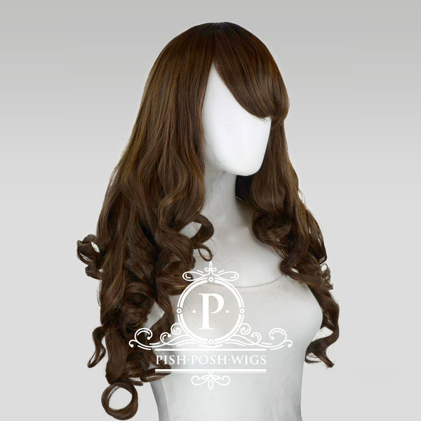 Elizabeth - Dark Brown Wig