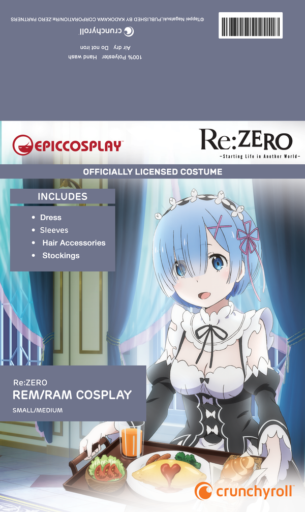 Re:Zero - Rem / Ram - Official Licensed Costume