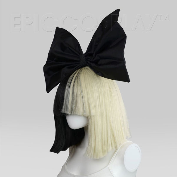 Official Sia Cosplay and Costume Wig (Includes Black Bow-Tie)