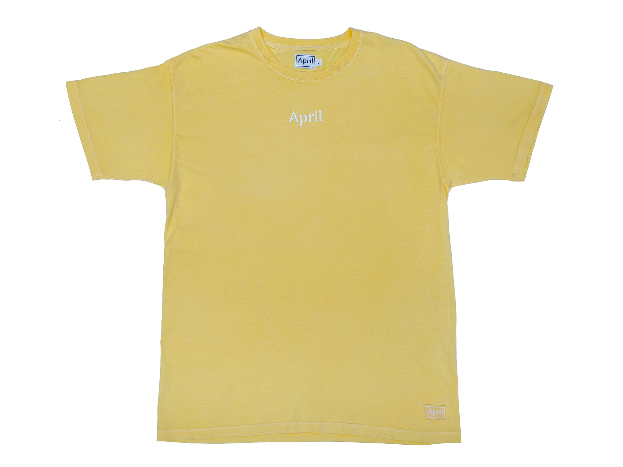 APRIL LOGO TEE - BUTTER