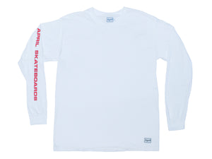 APRIL LS TEE - WHITE
