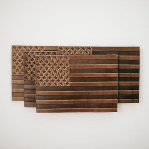 Leather Flag Coasters