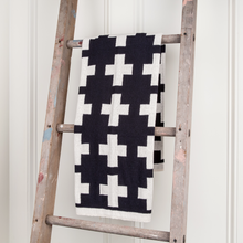 Swiss Cross Baby Throw
